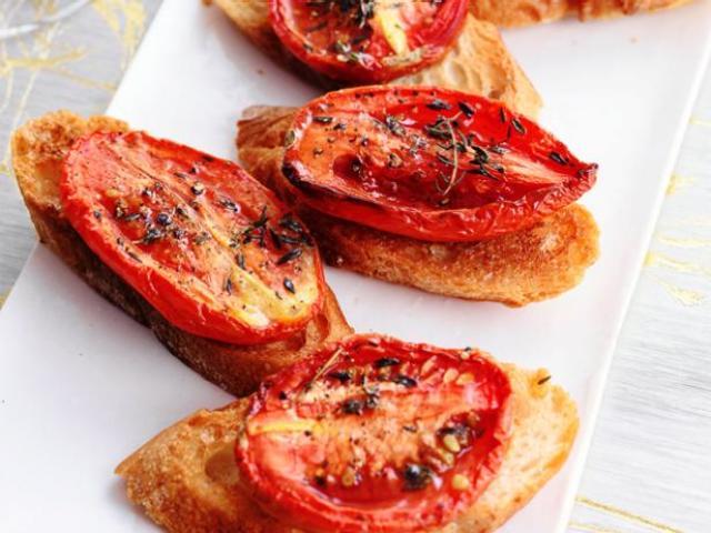 Бутерброды с вялеными помидорами рецепты с фото